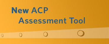 New ACP Assessment Tool announcement button